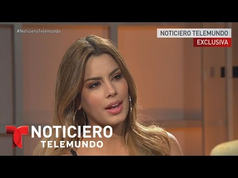 """Miss Colombia pensó que la confusión """"era una broma""""   Noticiero   Noticias Telemundo"""