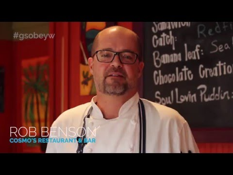 Cooking W/ Chef Rob Benson Of Cosmo's Restaurant & Bar, Orange Beach