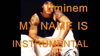 Eminem - My Name Is (Instrumental Karaoke Sing-A-Long) with Lyrics