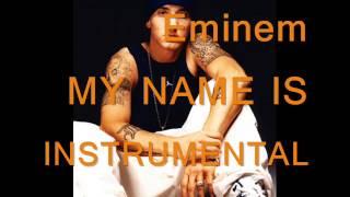 eminem my name is instrumental karaoke sing a long with lyrics