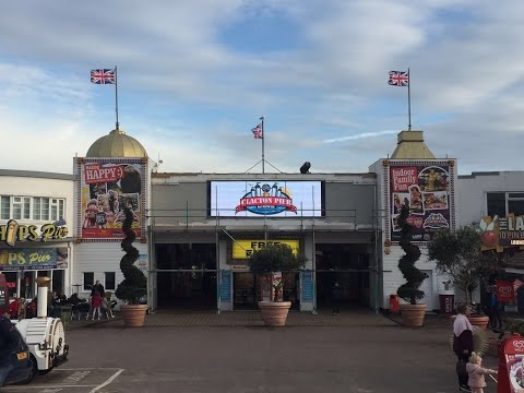 Clacton Pier Vlog 4th March 2017