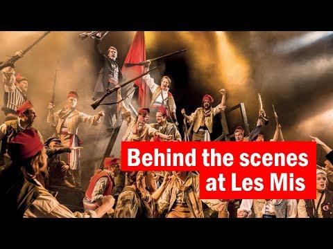 Behind the scenes at Les Misérables