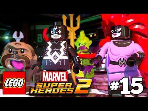 LEGO Marvel Super Heroes 2 Walkthrough Part 15 - Inhuman Nature - Black Bolt and Medusa The Inhumans