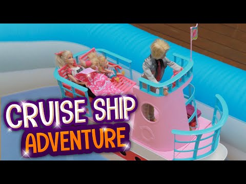 Save Barbie's Cruise Ship Adventure Snapshots
