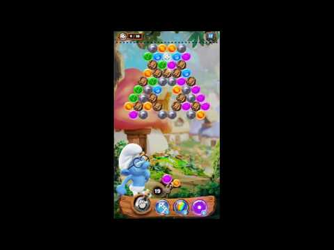 Smurf Bubble Story Game Level 43 | The Lost Village Game