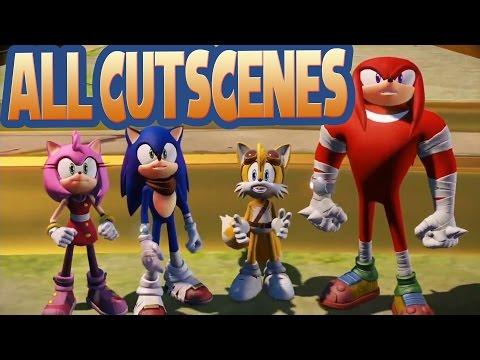 All Cutscenes / Sonic Boom Rise Of Lyric (Wii U)