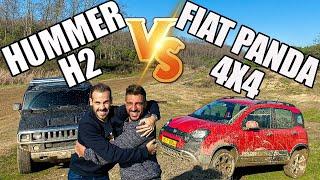 Fiat Panda Cross 4x4 Hummer'a Karşı | Arazide Kim Geçer?