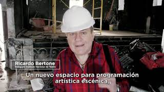 Mestre recibió del Instituto Nacional de Teatro los equipos de iluminación y audio para La Piojera