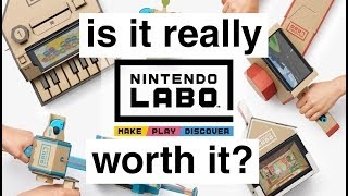 My Experience With Nintendo Labo (Variety & Robot Kit)