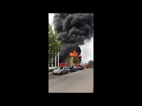 Incendie à Luxembourg