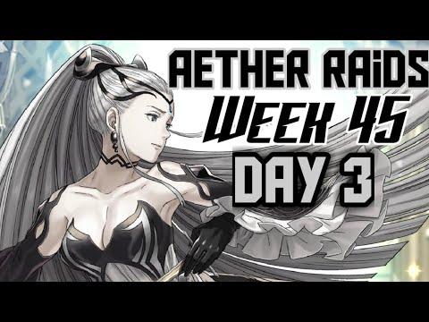 [FEH] Aether Raids #45 Day 3: Nagi Fishing (Tier 23)