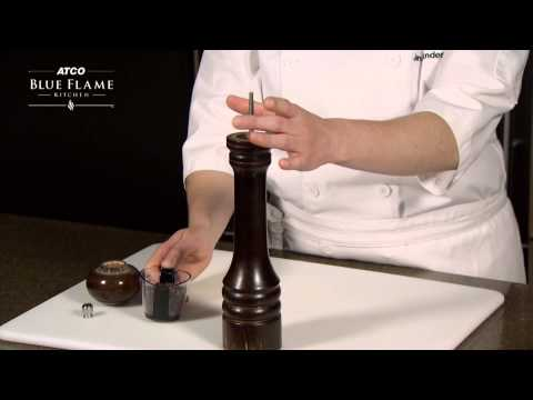 How To Fill And Adjust A Pepper Mill