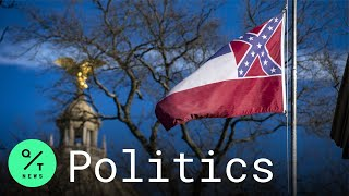 Mississippi State Senate Votes To Remove Confederate Battle Emblem From State Flag
