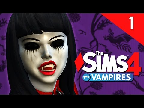 The Sims 4: Vampires - MEET THE GHOULS - Part 1