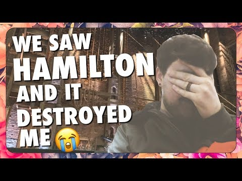 HAMILTON THE MUSICAL DESTROYED ME + West End Review