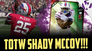 TOTW SHADY MCCOY WITH A NASTY SPIN!!! - MADDEN 17 TOTW LESEAN MCCOY GAMEPLAY