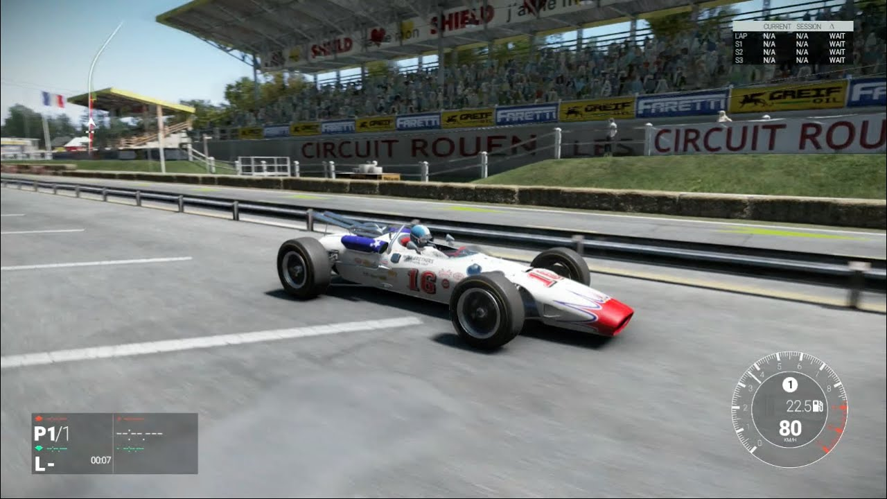 project cars 1966 lotus type 38 ford classic indy car. Black Bedroom Furniture Sets. Home Design Ideas