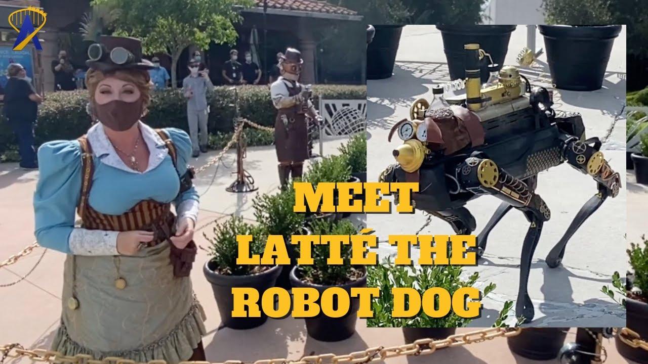 Latte, Steampunk Robot Dog That Runs on Coffee at Toothsome Chocolate Emporium