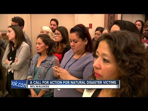 Milwaukee Hispanic community reaches out to help Puerto Rico, Mexico