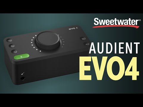 Audient EVO 4 USB Audio Interface Overview
