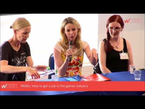 European Women in Games Conference 2016 - Panel: How to get a job in the games industry