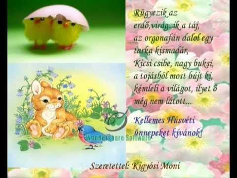 húsvéti köszöntő képeslapok Boldog Húsvéti ünnepeket   Happy Easter Képeslap helyett   YouTube húsvéti köszöntő képeslapok