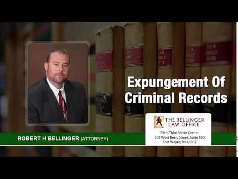 When Is A Criminal Record Officially Expunged In Fort Wayne, Indiana? | (260) 428-2214