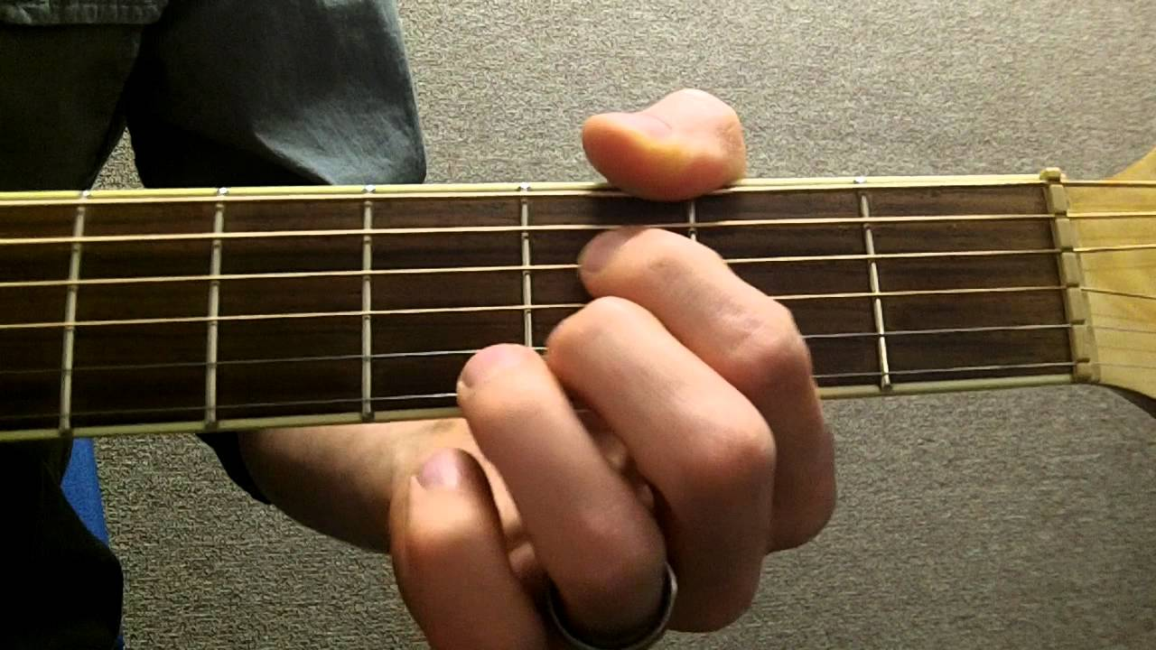 How To Play Bdim Diminished On Guitar Youtube