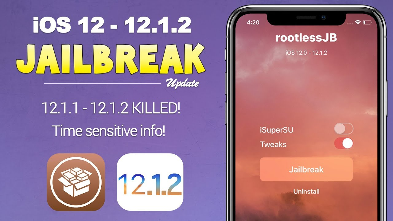 iOS 12 Jailbreak: IMPORTANT Info + iOS 12 1 2 KILLED by Apple | JBU 74