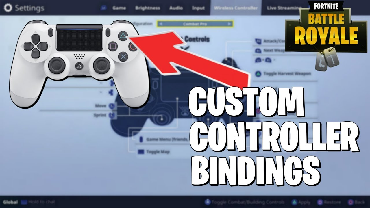Fortnite Controller Custom Keybinds and Fast Editing in Next Weeks Update!