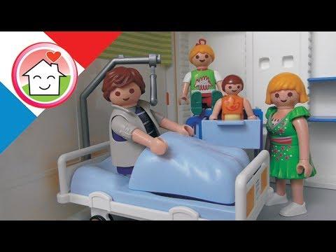 Playmobil en français Papa à l´hopital - La famille Hauser