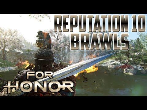 [For Honor] Centurion Reputation 10 Brawls
