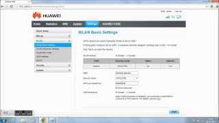 how to change wifi networks names and passwords huawei e8231 data card