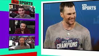 Tom Brady Bombs Down Ski Slope, Patriots Fans Freak Out | TMZ Sports