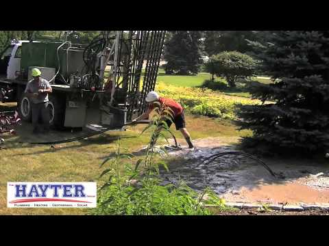 Installing Geothermal Loops and Solar Panels