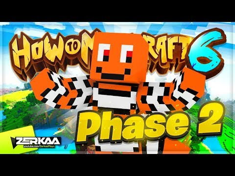 MINECRAFT BINGO HUNT EVENT! - PHASE 2! (How To Minecraft #25)