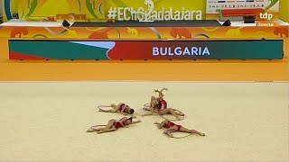 2018 European Rhythmic Gymnastics Championships - Groups 5 Hoops Qualifications