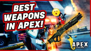 NEW BEST WEAPONS TO USE APEX LEGENDS SEASON 5! RANKED WEAPON TIER LIST GUIDE!