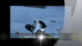 Snowboarder tryin' to get handjob from rock HD