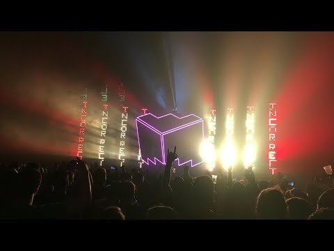 Deadmau5 at Bell Centre, Montreal (#LotsOfShowsInaRow Cube set) Oct 13th 2017 (4K)