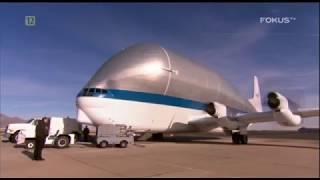 Niezwykłe samoloty - Super Guppy