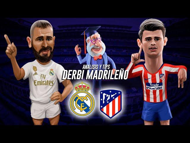 Análisis Profebet para el Berbi Madrileño - Real Madrid vs Atletico de Madrid 01/02/2020