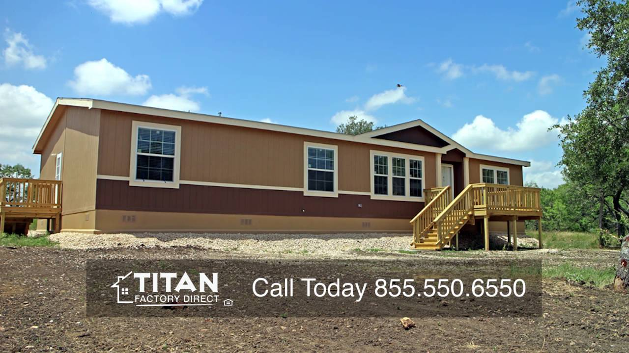 Manufactured home construction land home packages youtube for Home construction packages
