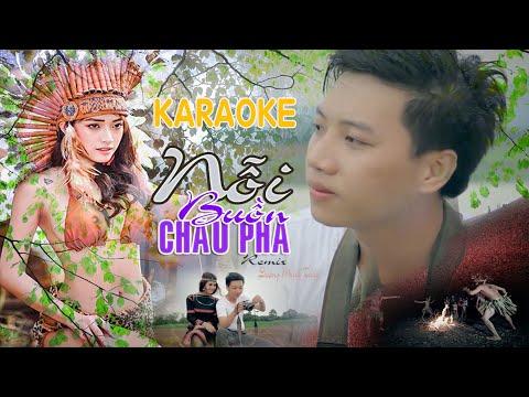 [Karaoke] Nỗi Buồn Châu Pha remix -  Dương Minh Tuấn || Karaoke Nhạc Sống Đỉnh Cao