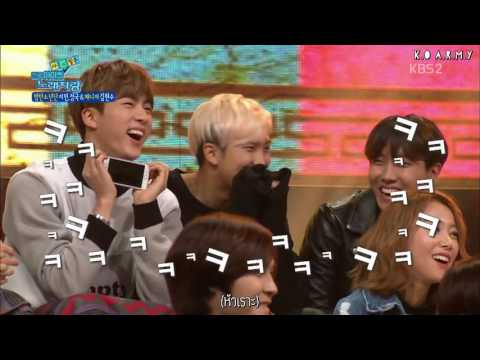 [Thaisub] 160208 BTS Manager melts because of Jimin & Jungkook @ National Idol Singing Contest