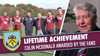 AWARD | Colin McDonald Receives Lifetime Award