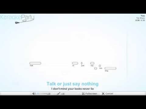 Ten Sharp - You - karaoke