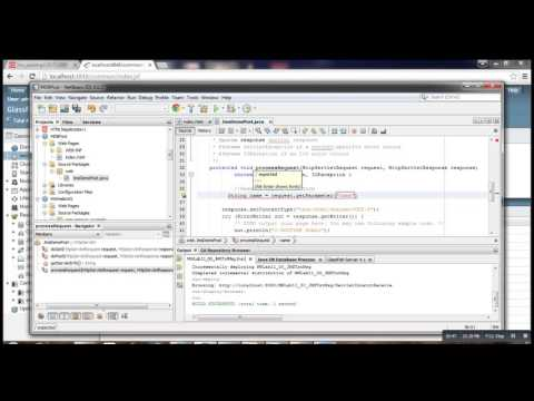 JMS 01    Post To A Queue With Glassfish + Netbeans