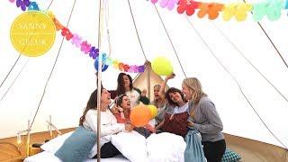 OMG! MIJN ZUS IS OOK ZWANGER! & Glamping met vriendinnen | Sanny zoekt Geluk