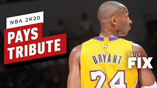 NBA 2K20 Players Pay Tribute to Kobe Bryant - IGN Daily Fix